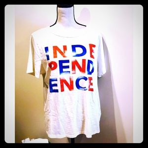 J. Crew Independence Day Tee Size XL